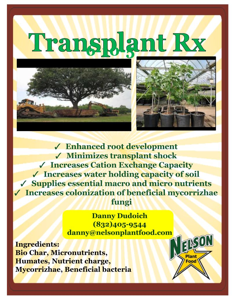 Transplant RX Nelson Plant Food