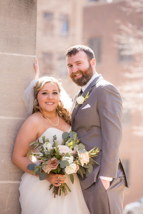 Jordyn and Danny Bloomington Illinois Wedding J.Blu Design