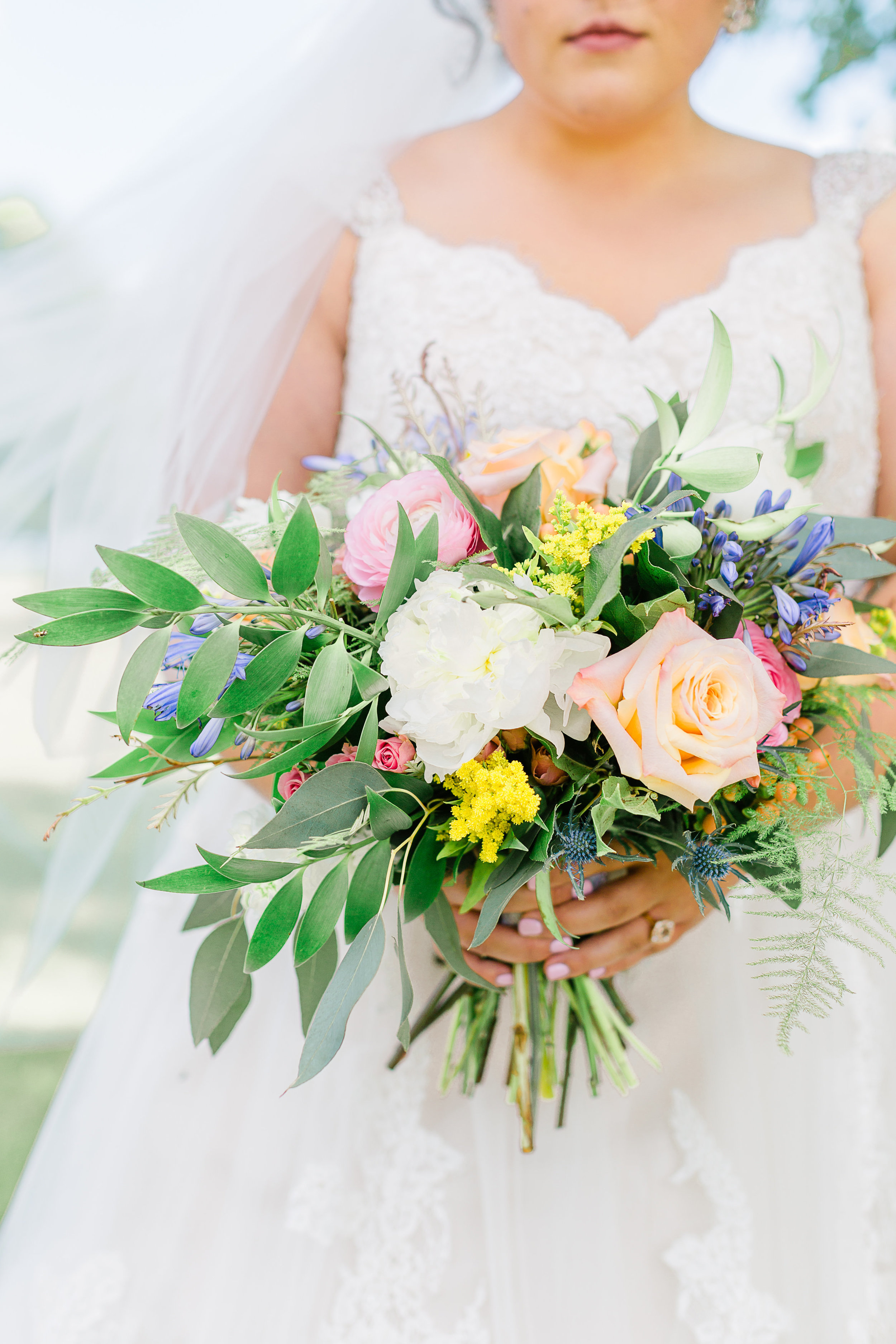 Bridal Bouquet Outdoor Wedding J.Blu Design Florist