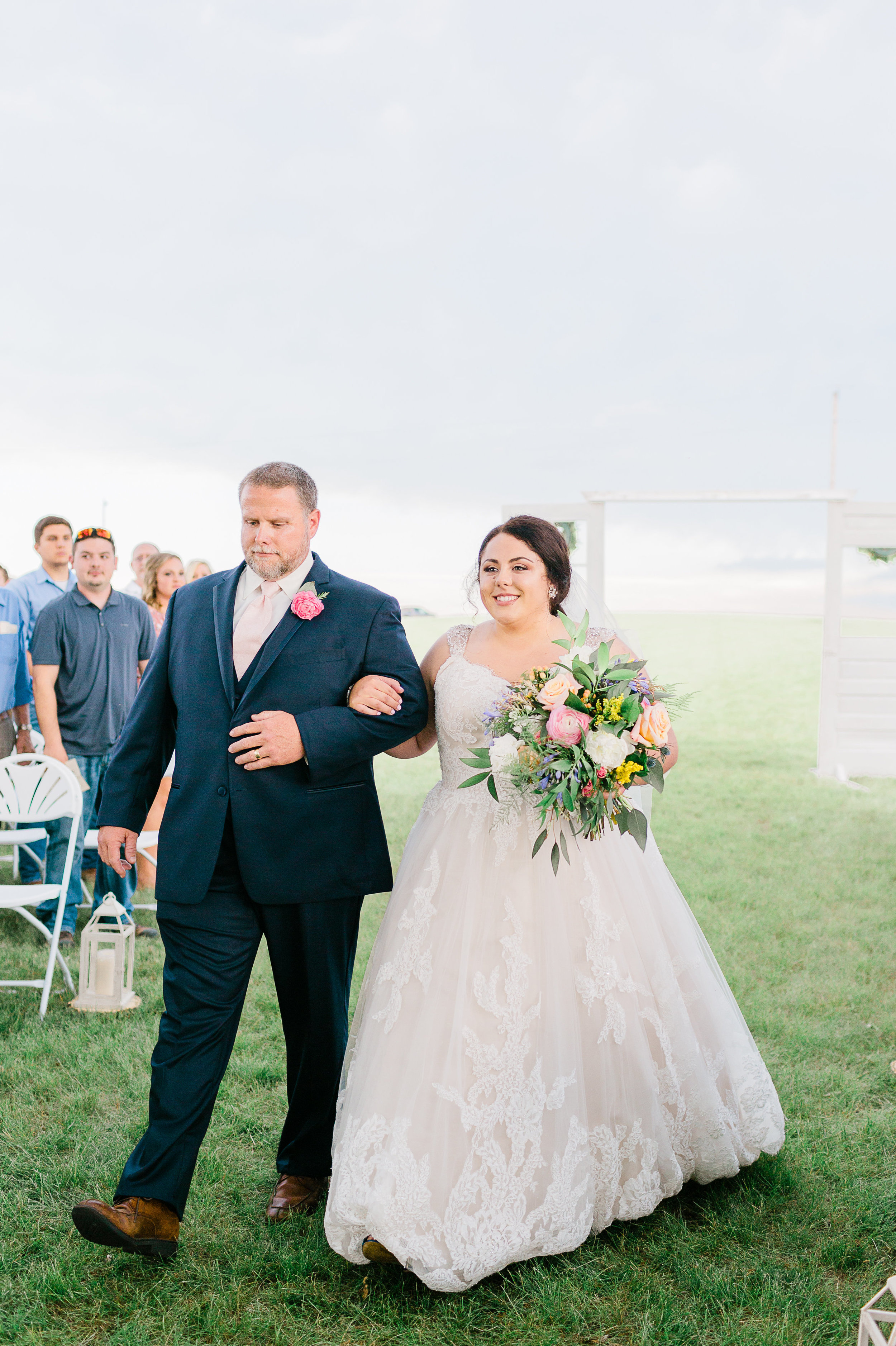 Western Illinois Outdoor Wedding