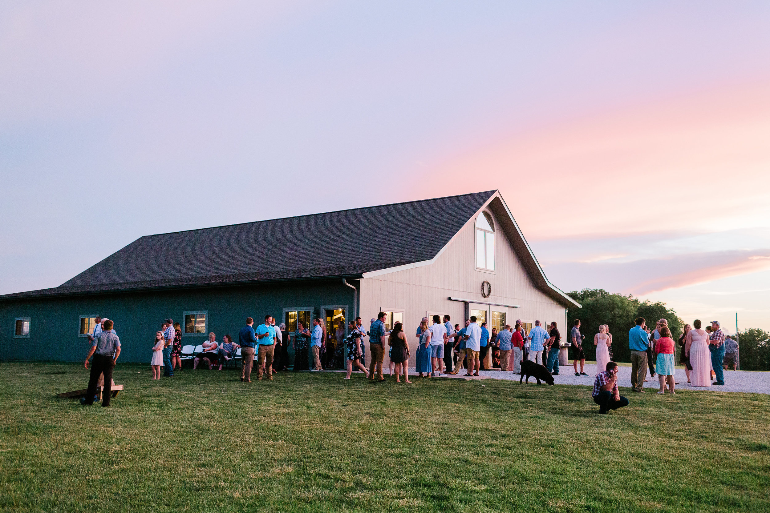 Jerry Lewis Barn Good Hope Illinois Macomb Weddings