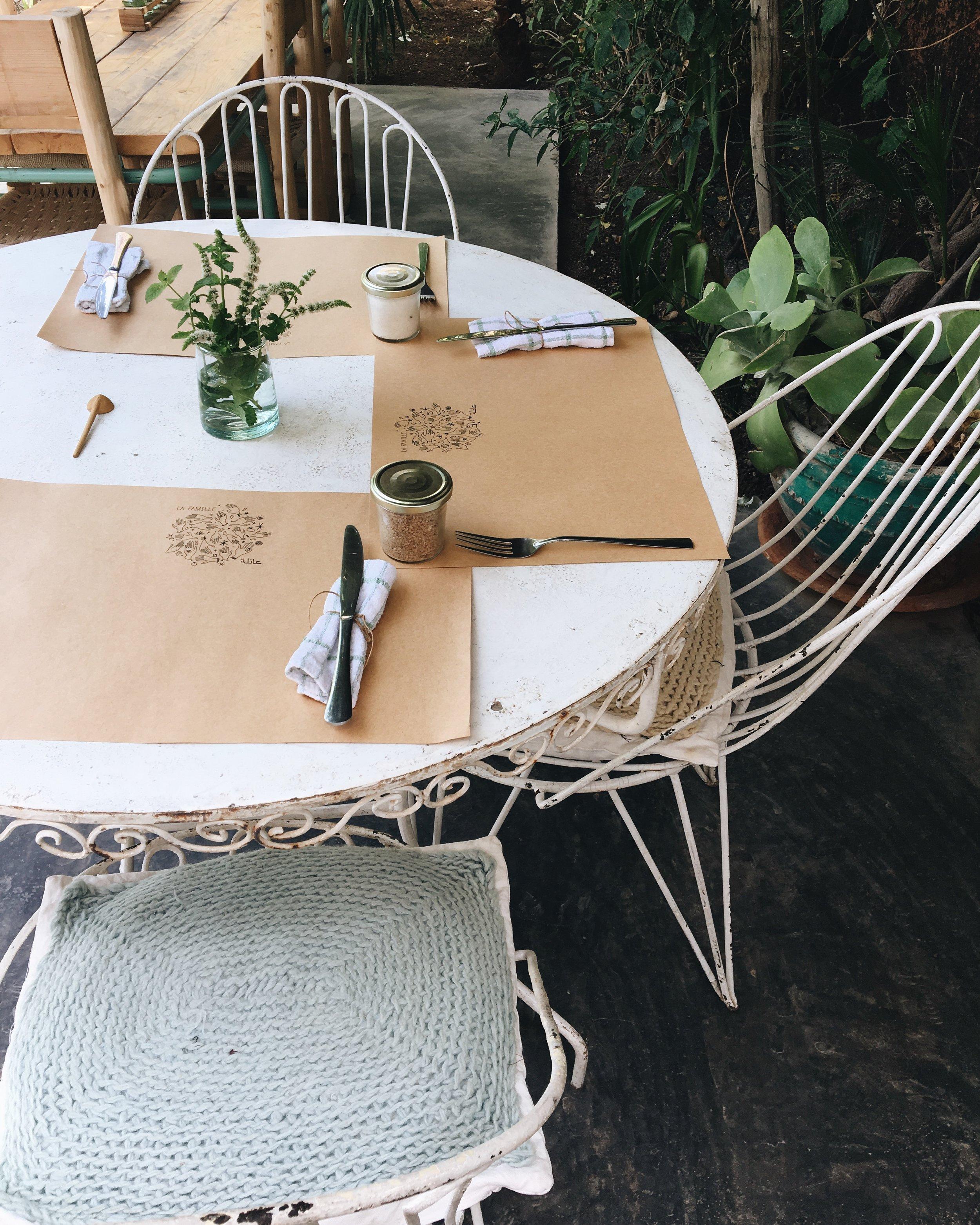 La Famille restaurant | Marrakech