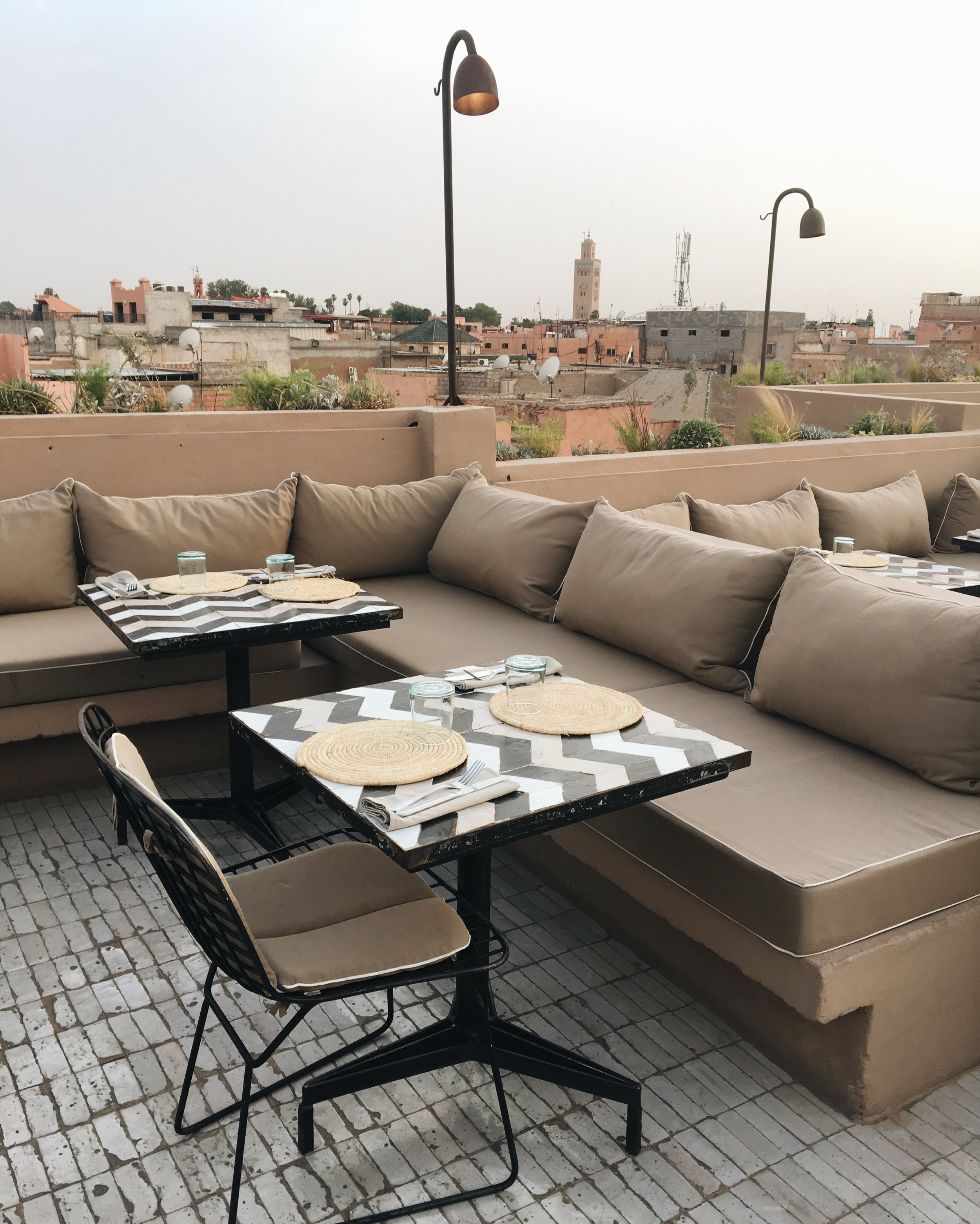 Nomad restaurant | Marrakech