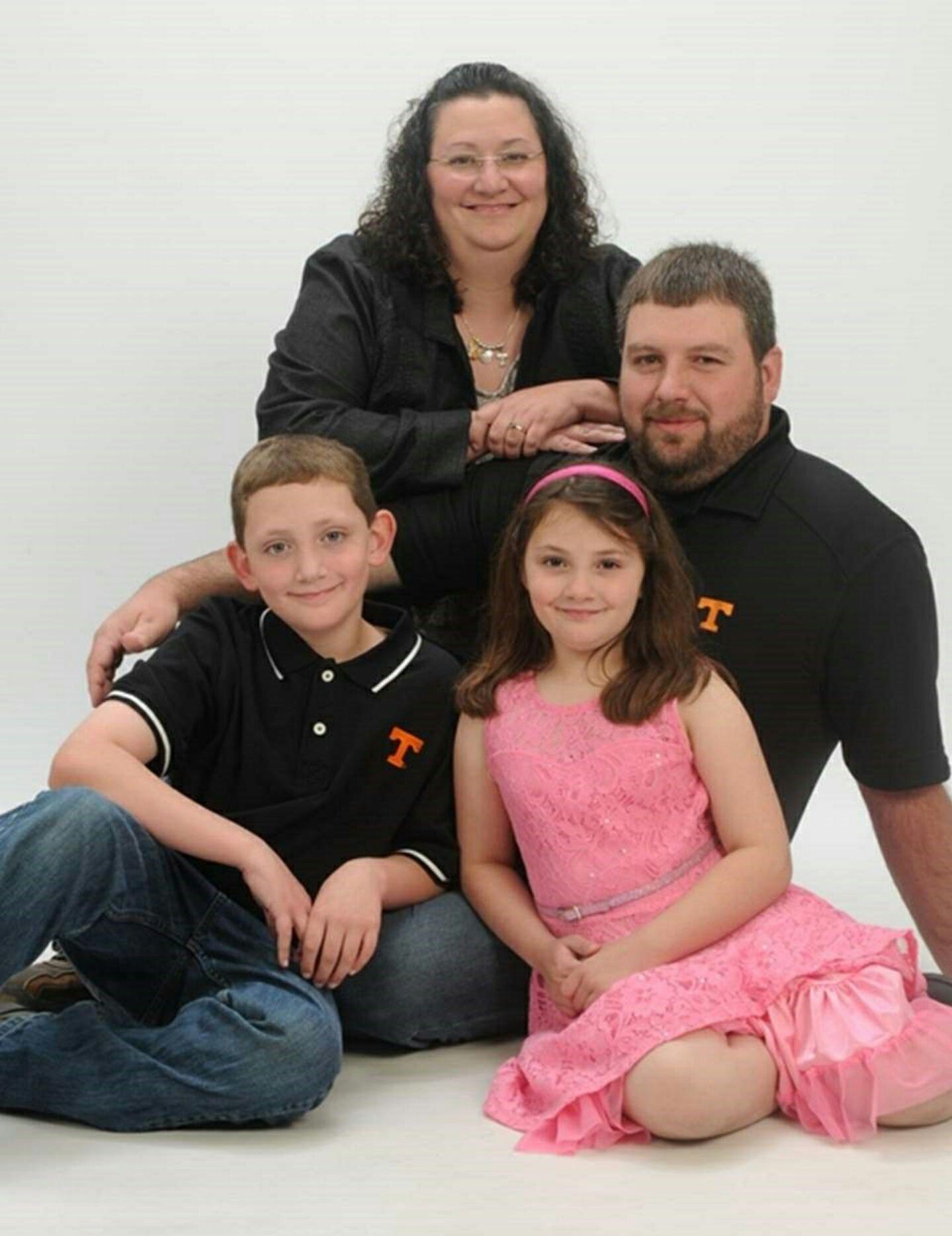 Jeremy, Beth, Cameron, and Grace Fox