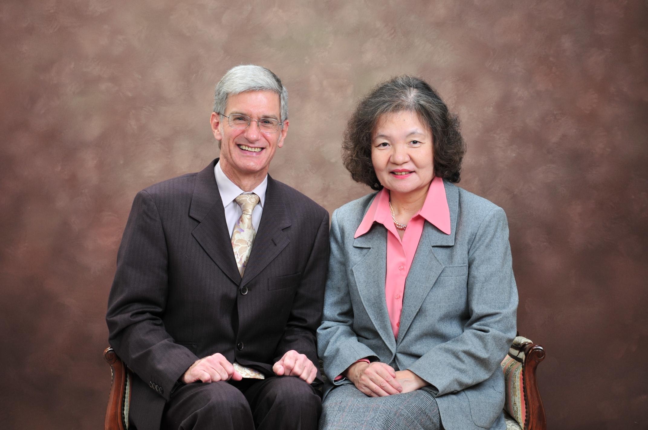 Bob and Mariko Barley