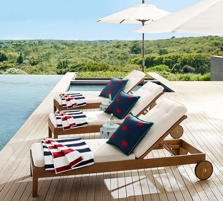 Stripe Towel - The perfect reversible towel for a dip in the pool