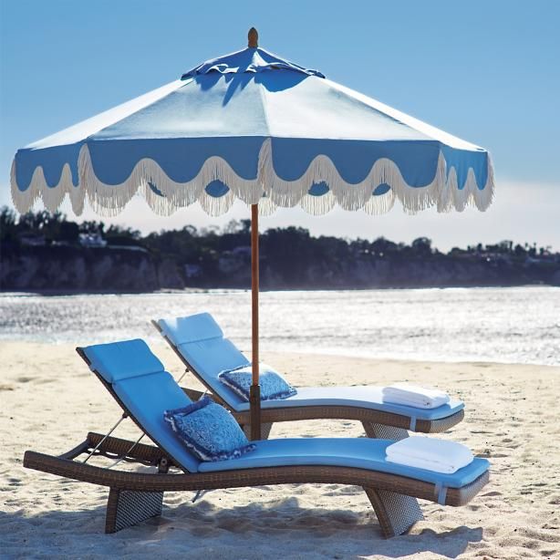 Sit + Relax + Drink - The beach chair that makes vacation NEVER END!