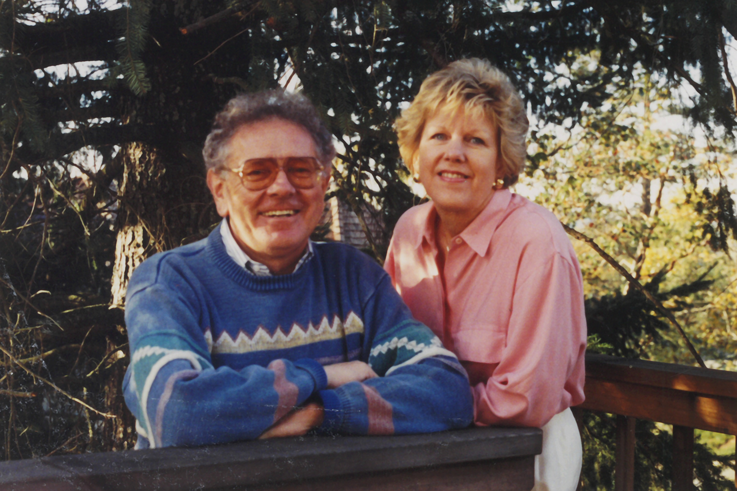 Harry and Gail Adams