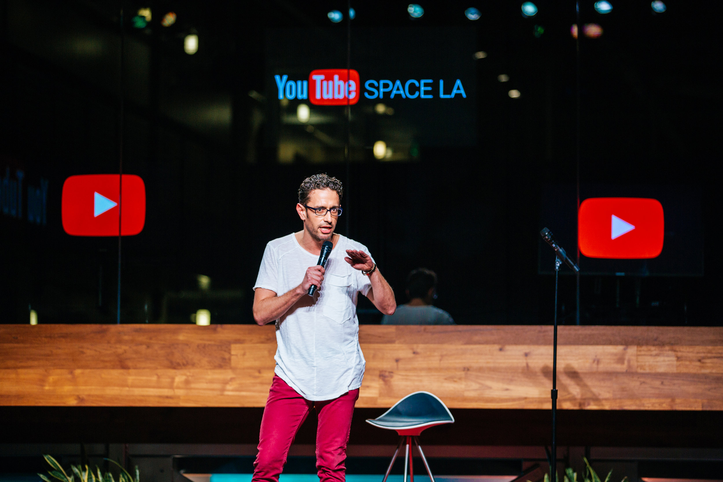 Comedian Brian Moreno