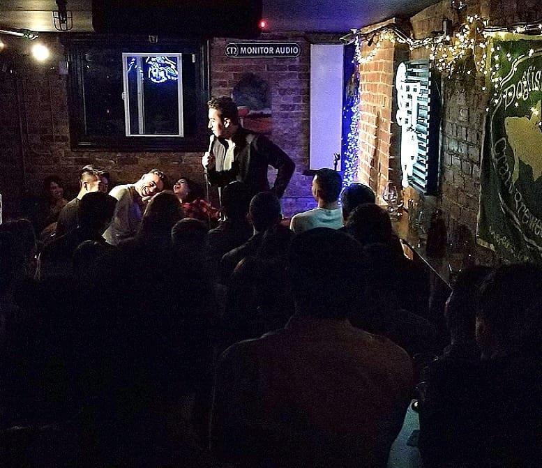 Comedian Brian Moreno in San Fransisco