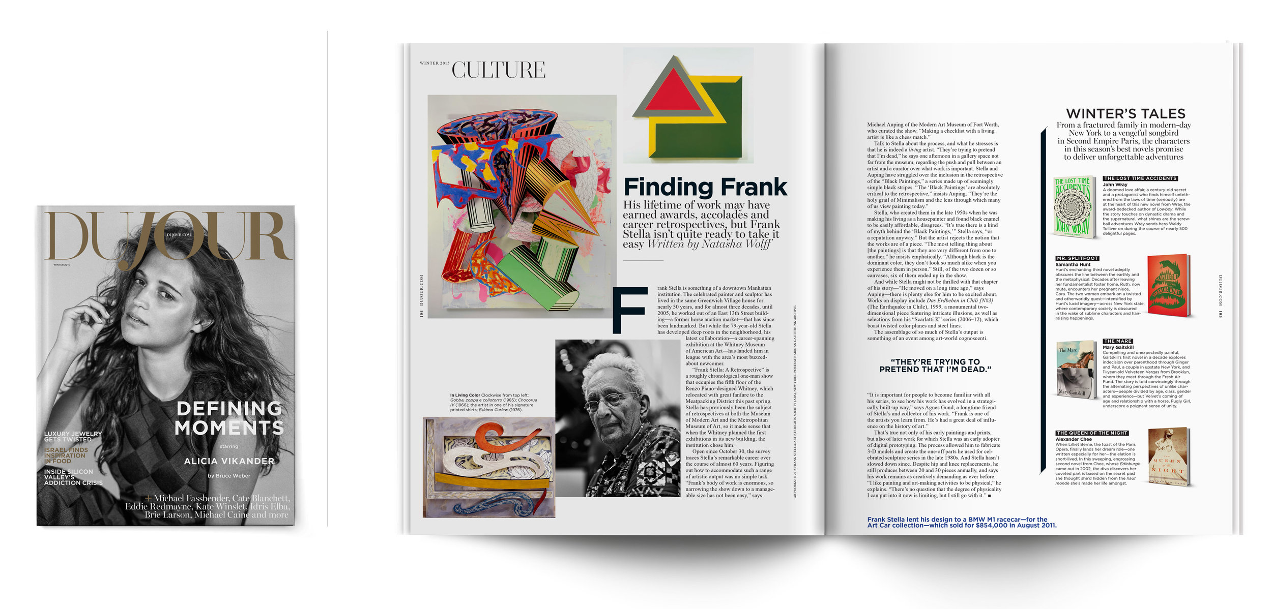 DuJour Magazine | Winter 2015   Finding Frank
