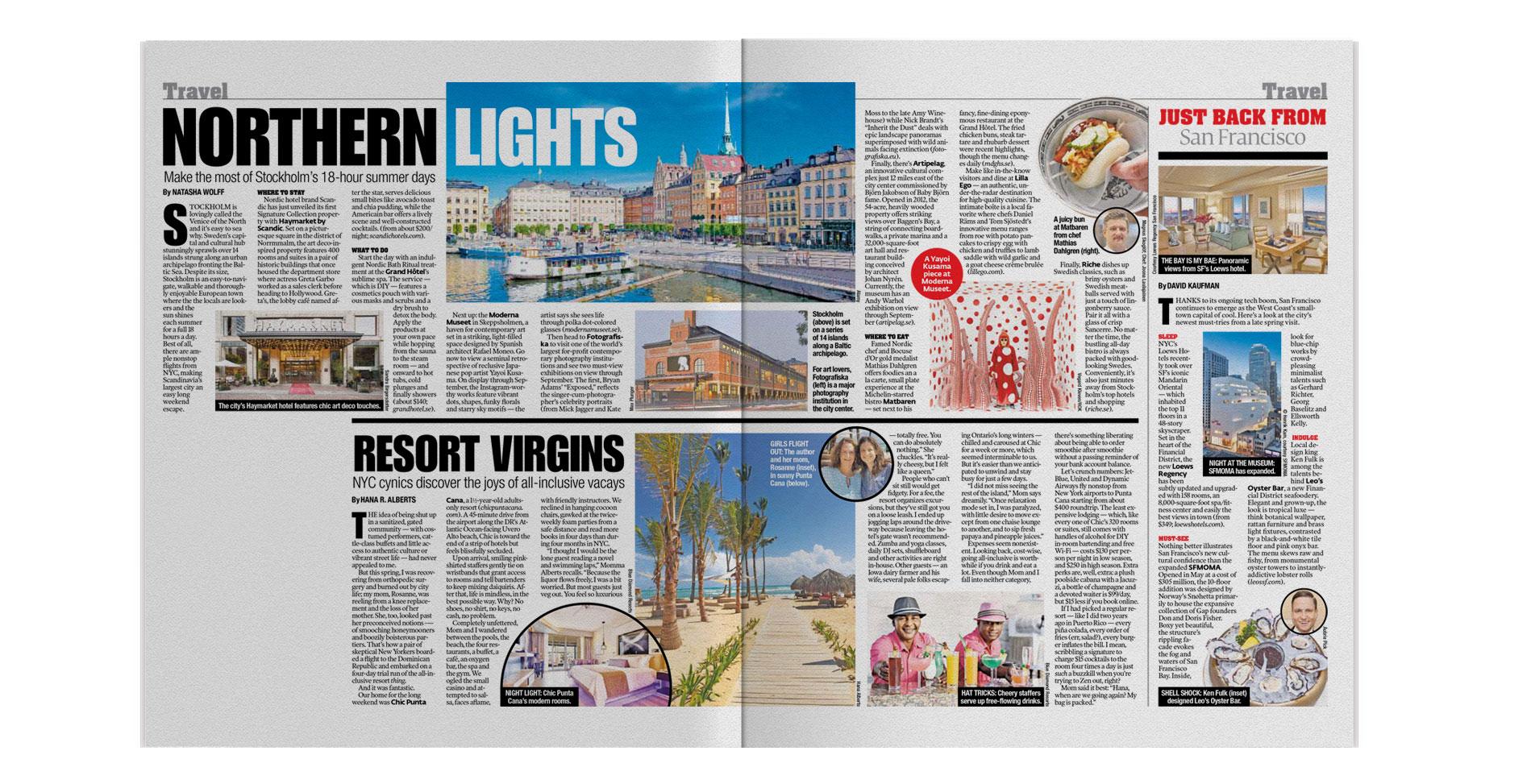 New York Post Travel | August 2016   Northern Lights