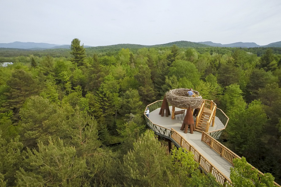 ArchitecturalDigest.com   The Wild Center Reopens Its Treetop Wild Walk in the Adirondacks
