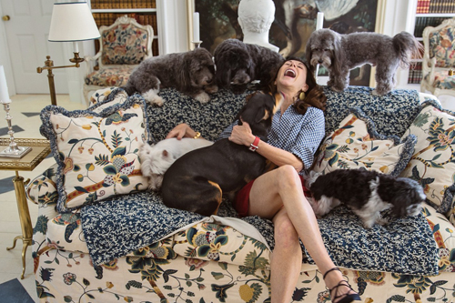 ArchitecturalDigest.com   What Is It About Interior Designers and Their Dogs?
