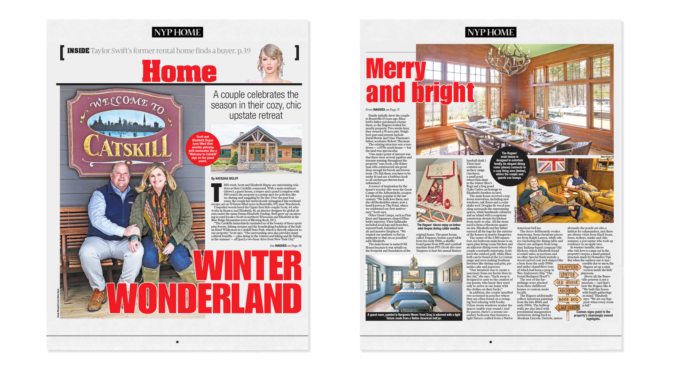 New York Post Home | December 2018  Winter Wonderland