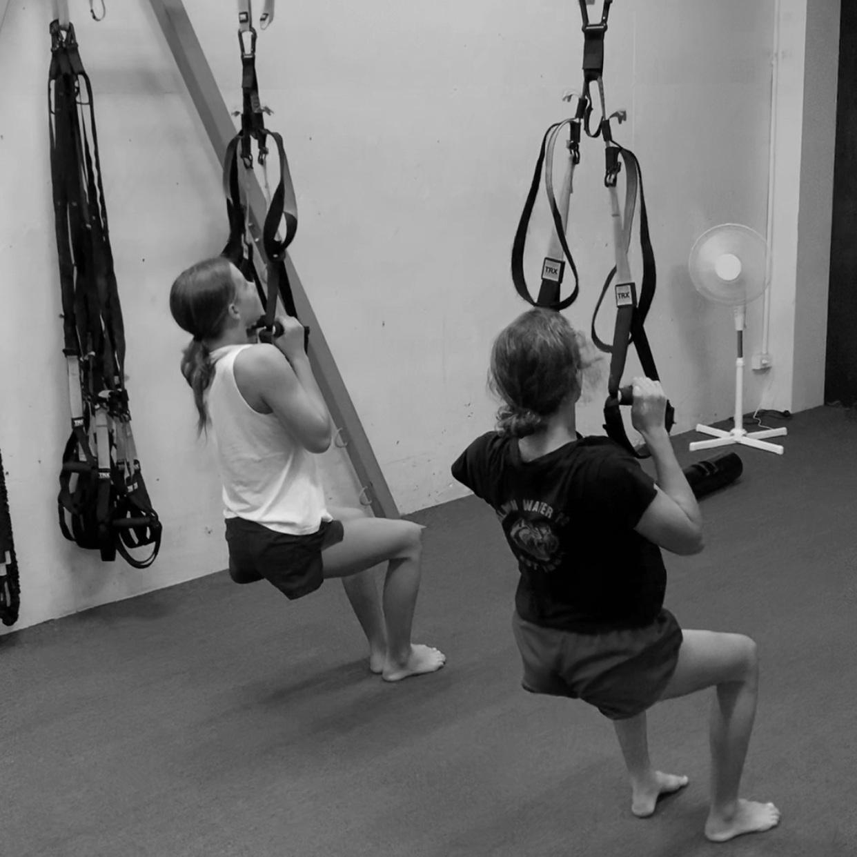 youth athletes training