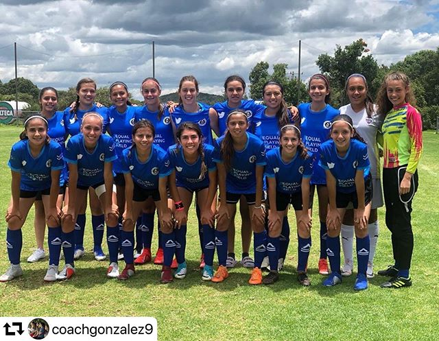 The Festival of Football brought together players from over 60 countries! Where are you repping EPF? #repost @coachgonzalez9 🇲🇽 ・・・ Today's look!!!! Thanks @equalplayingfieldinitiative #noriafc