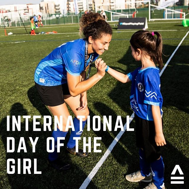 Today is International #DayOfTheGirl! In the four months since the Festival of Football, what change have YOU been inspired to create for #AnyGirlAnywhere? . . 📷: @dana.roesiger