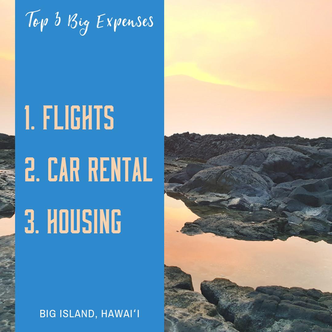 How To Vacation In HawaiÊ»i The Big Island On A Budget HawaiÊ»i Camp Life