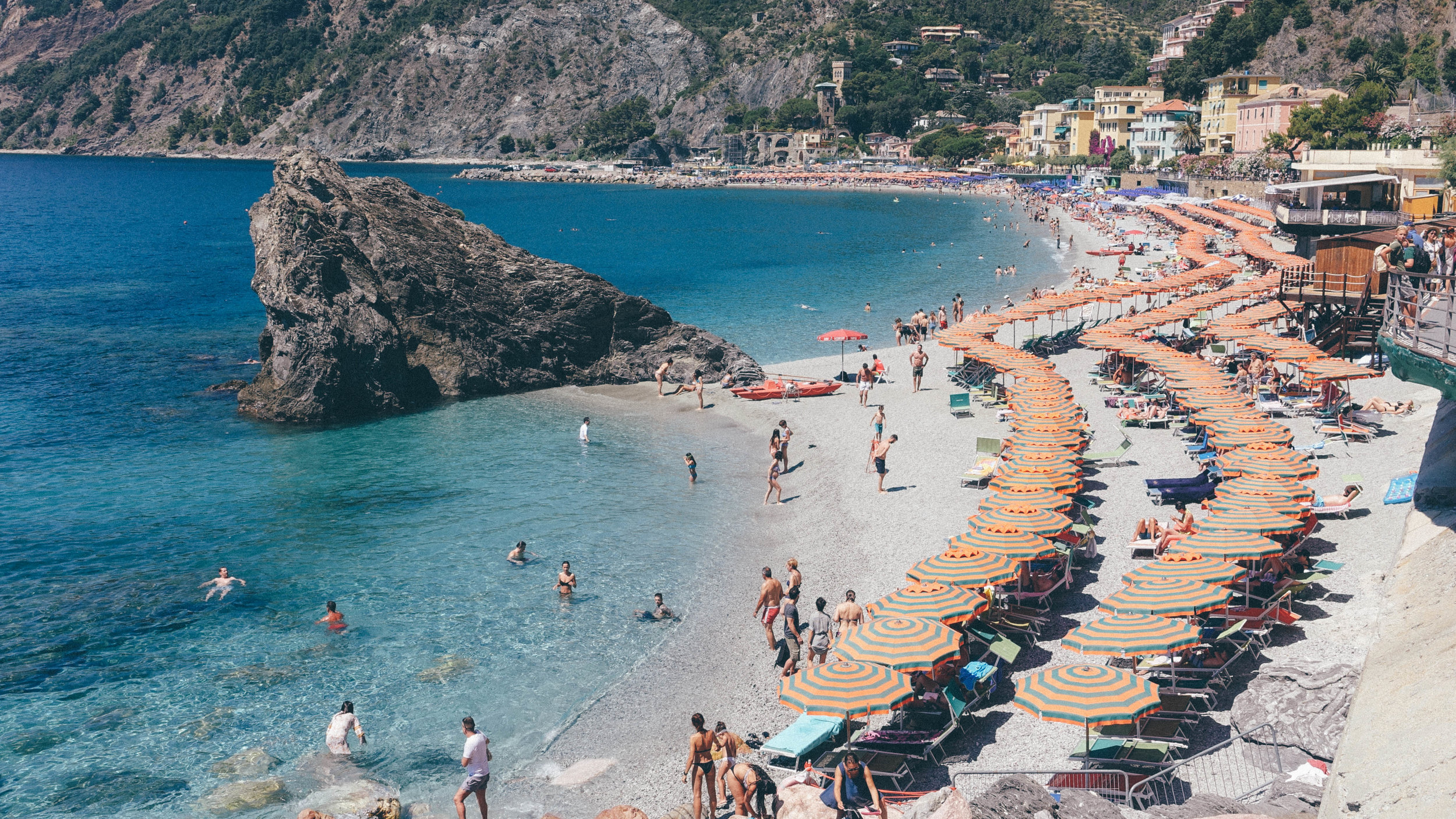 Monterosso al Mare. The perfect place to end any heist + make grand gestures.