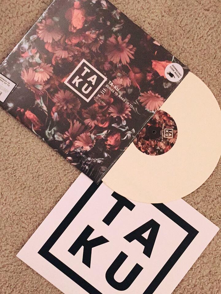 Bone colored vinyl / TAKU sleeve