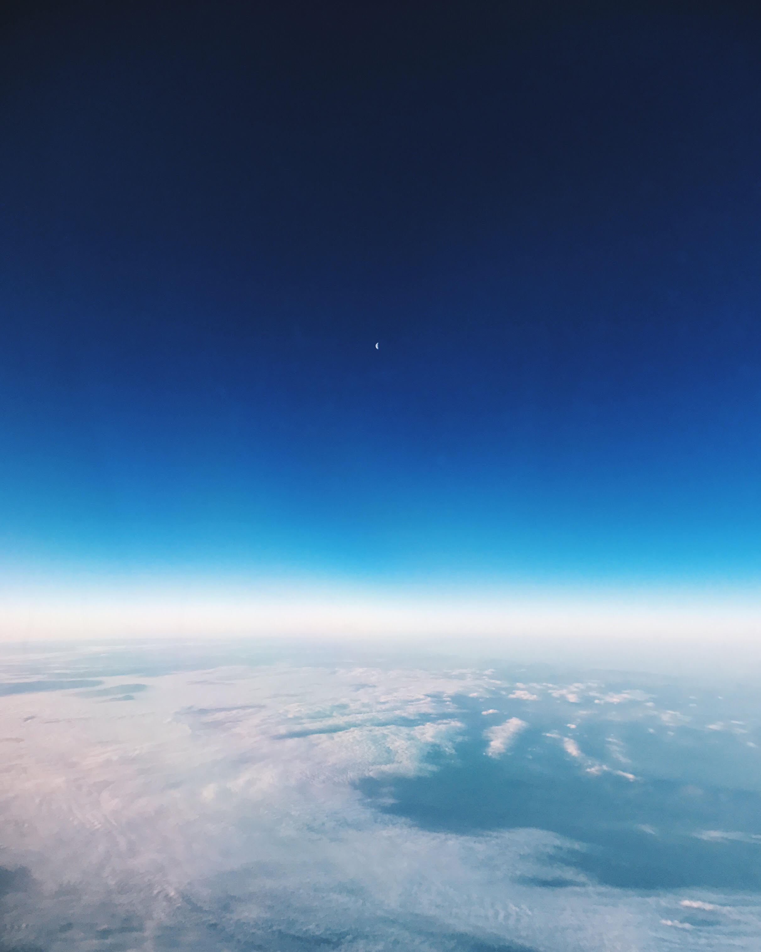 Up above the clouds..