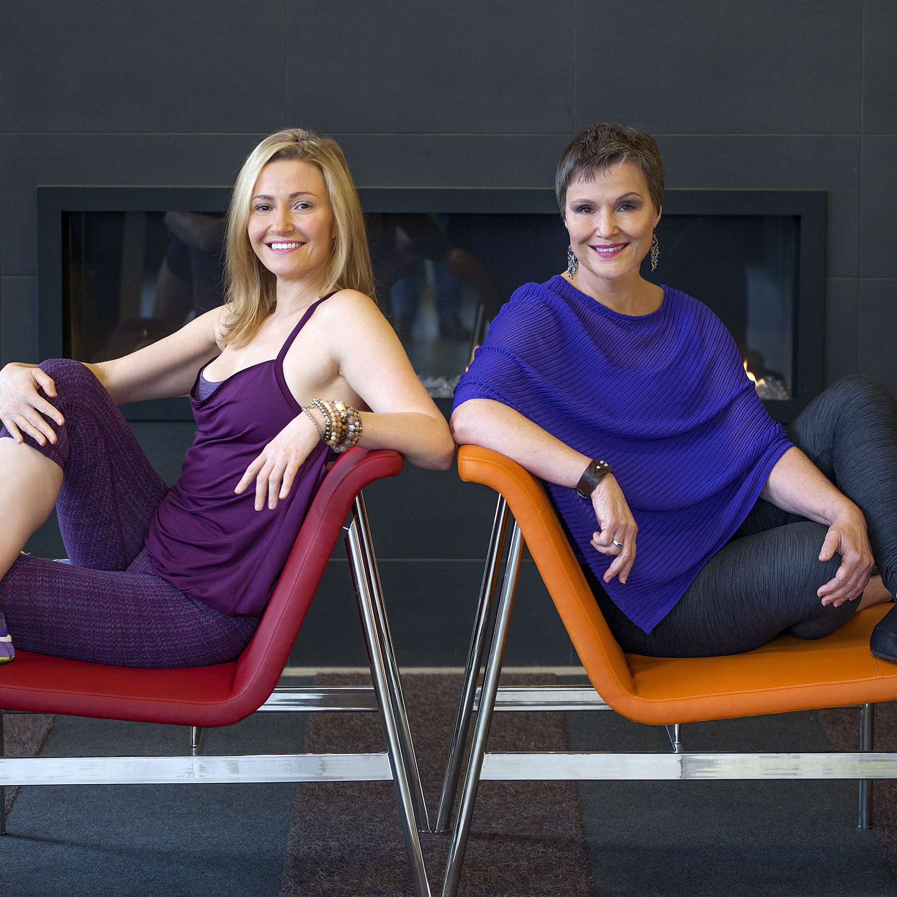 Sara (left) and Linda (right), co-owners of Firebrand.  © Firebrand Sports.