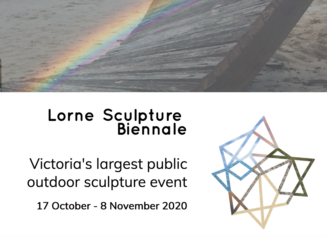 LORNE SCULPTURE BIENNALE - The stunning Lorne foreshore will become the picturesque pedestal for the Lorne Sculpture Biennale, a vibrant festival of art and events celebrating the best of Australian and International sculpture.