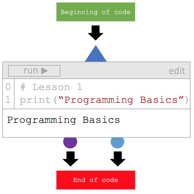 Lesson 1: Programming Basics