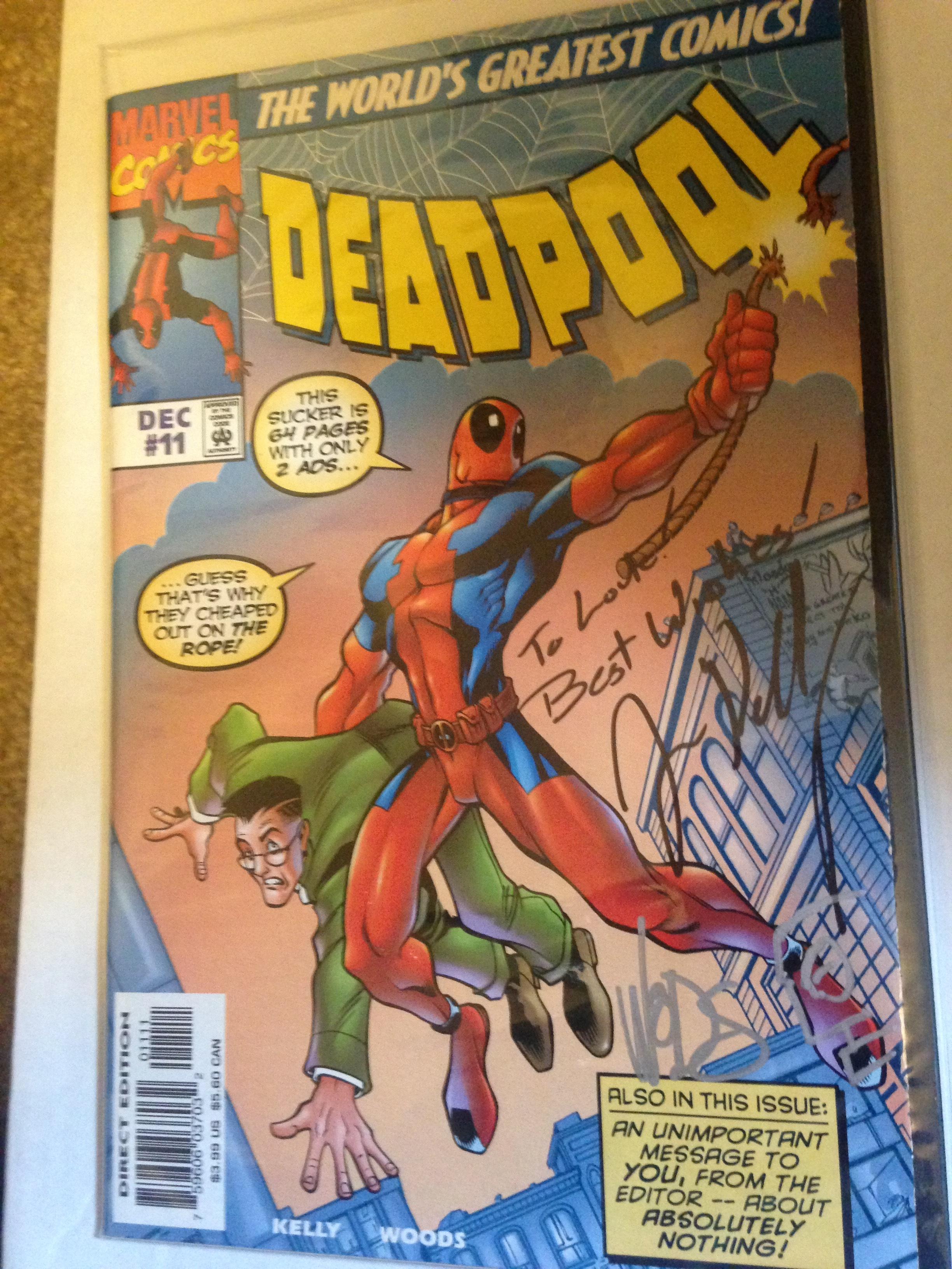 Since then I've found it in single issue and had it signed by Kelly and Woods!