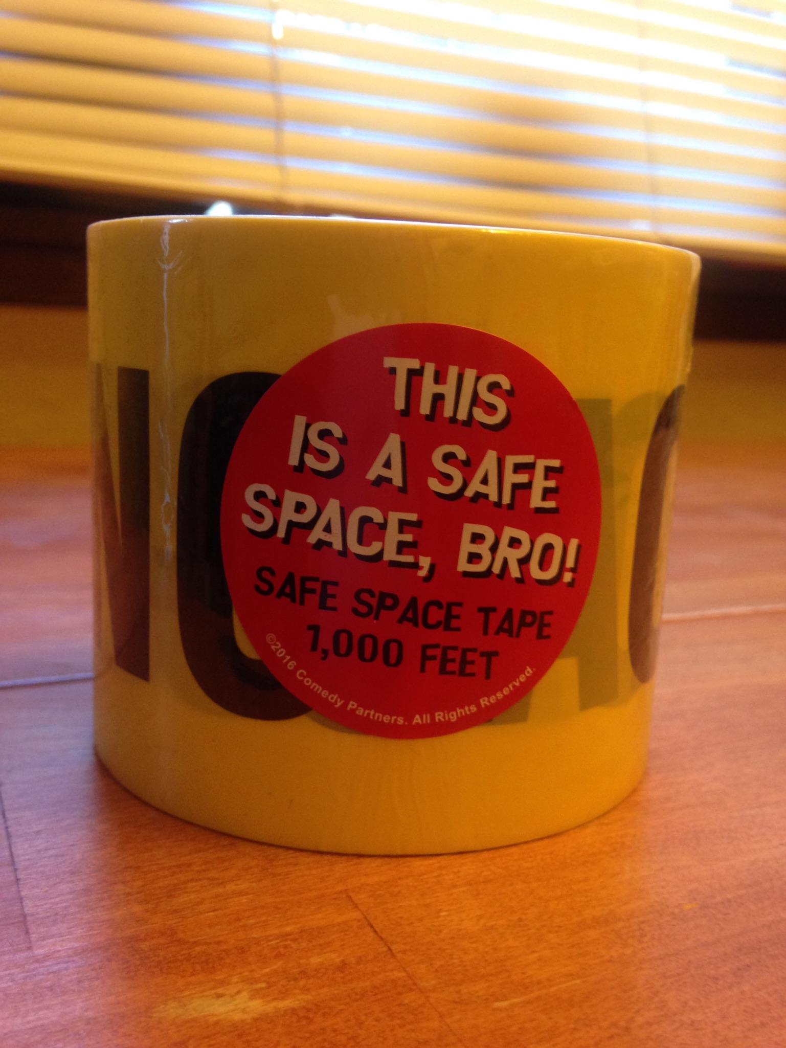 #2. Safe Space Caution Tape