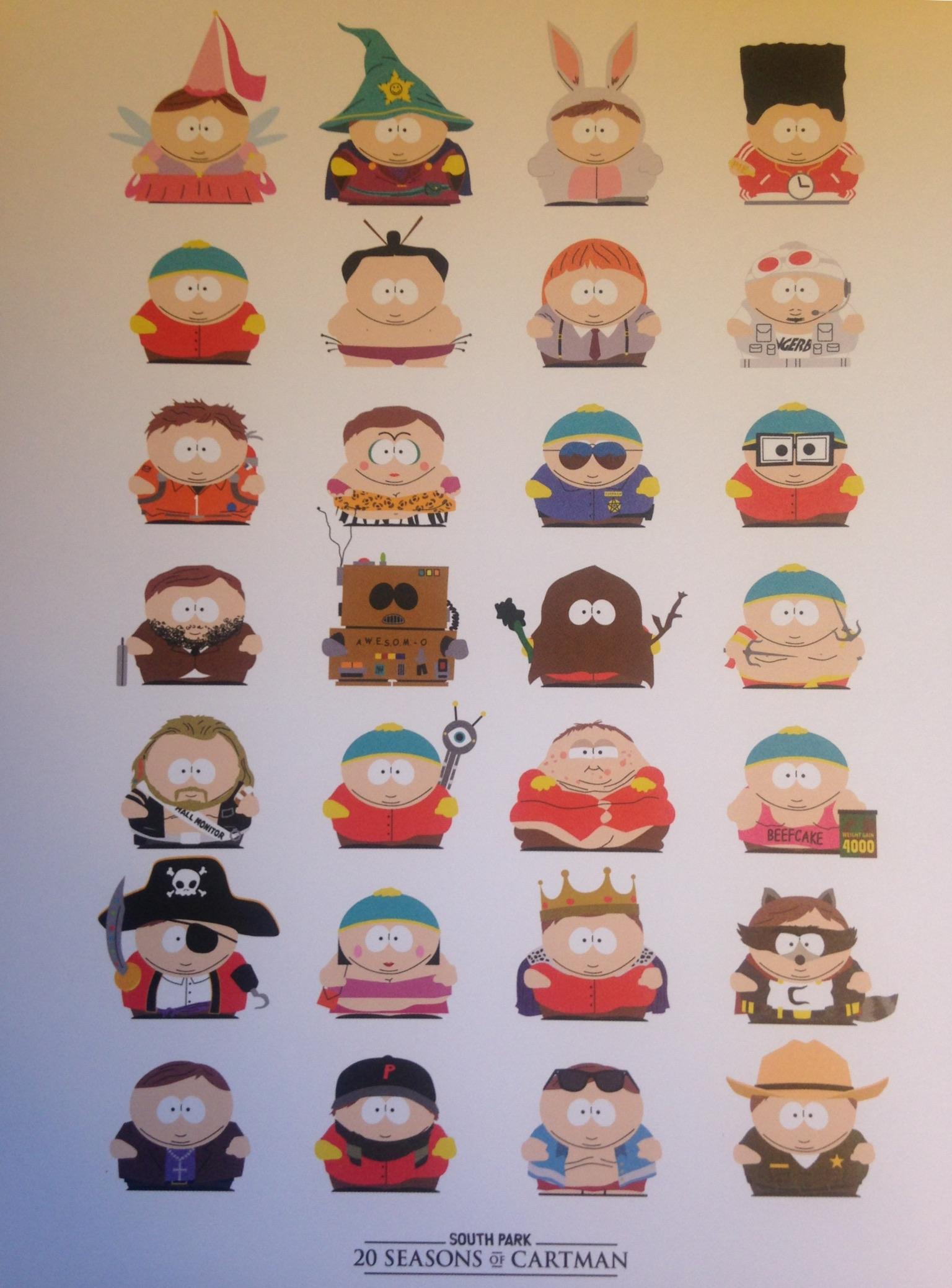 #5. Cartman Print