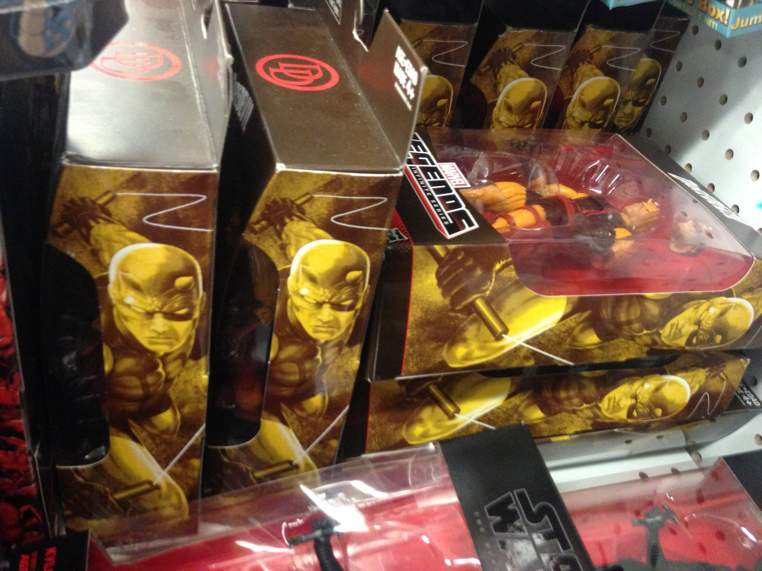 Yellow suit Daredevil, anyone?