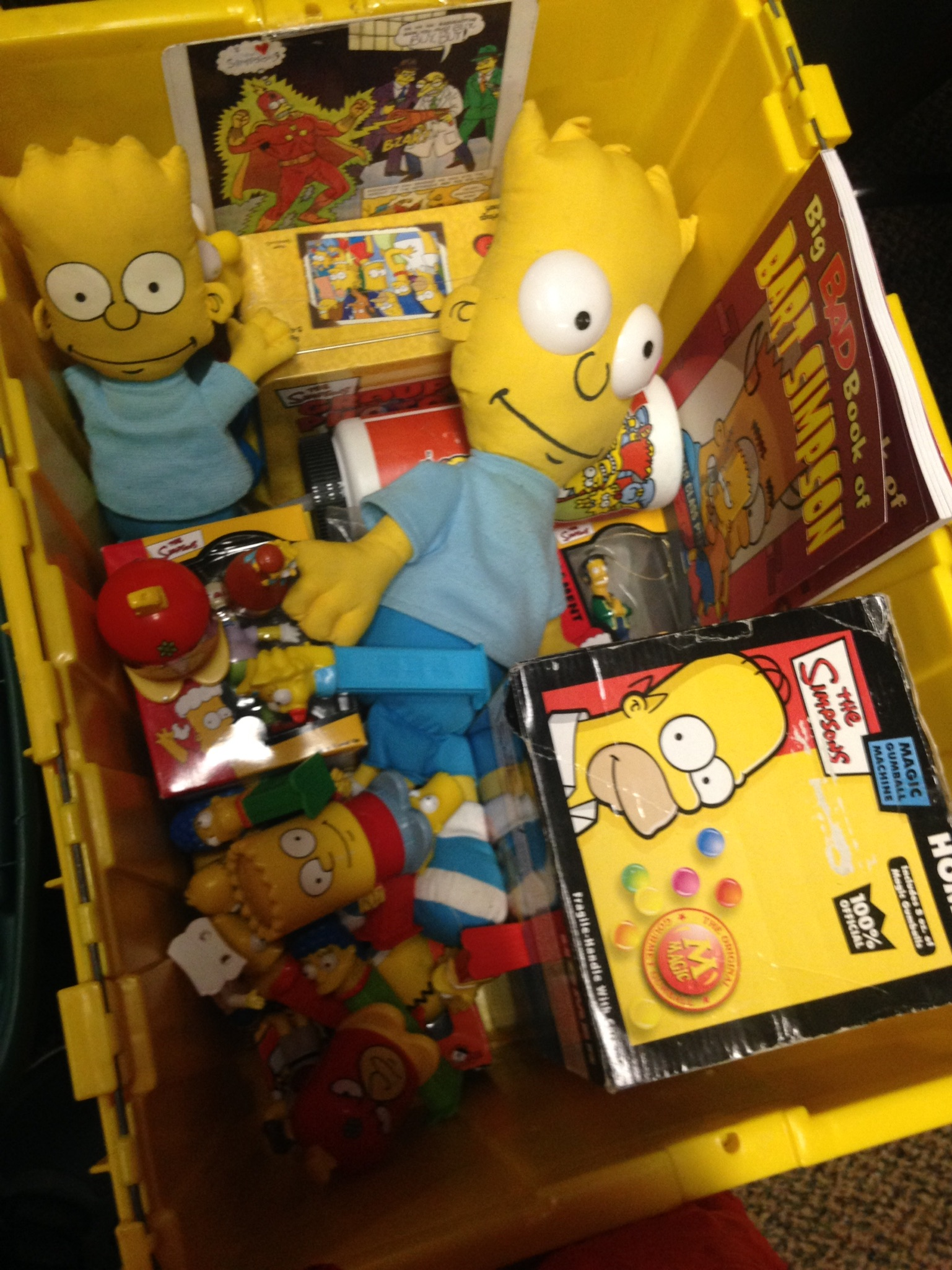 Big Bucket of Bart