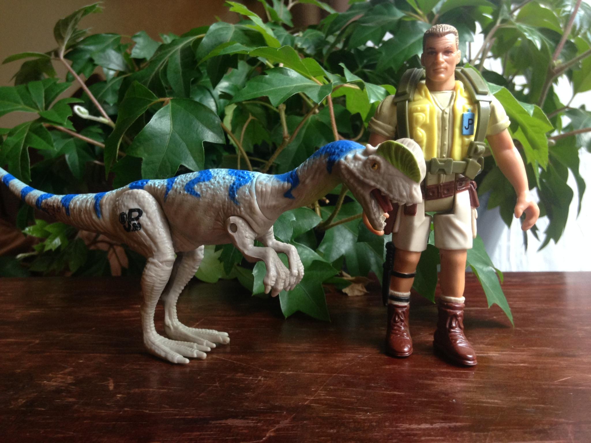 A Dilophosaurus and Muldoon - $2