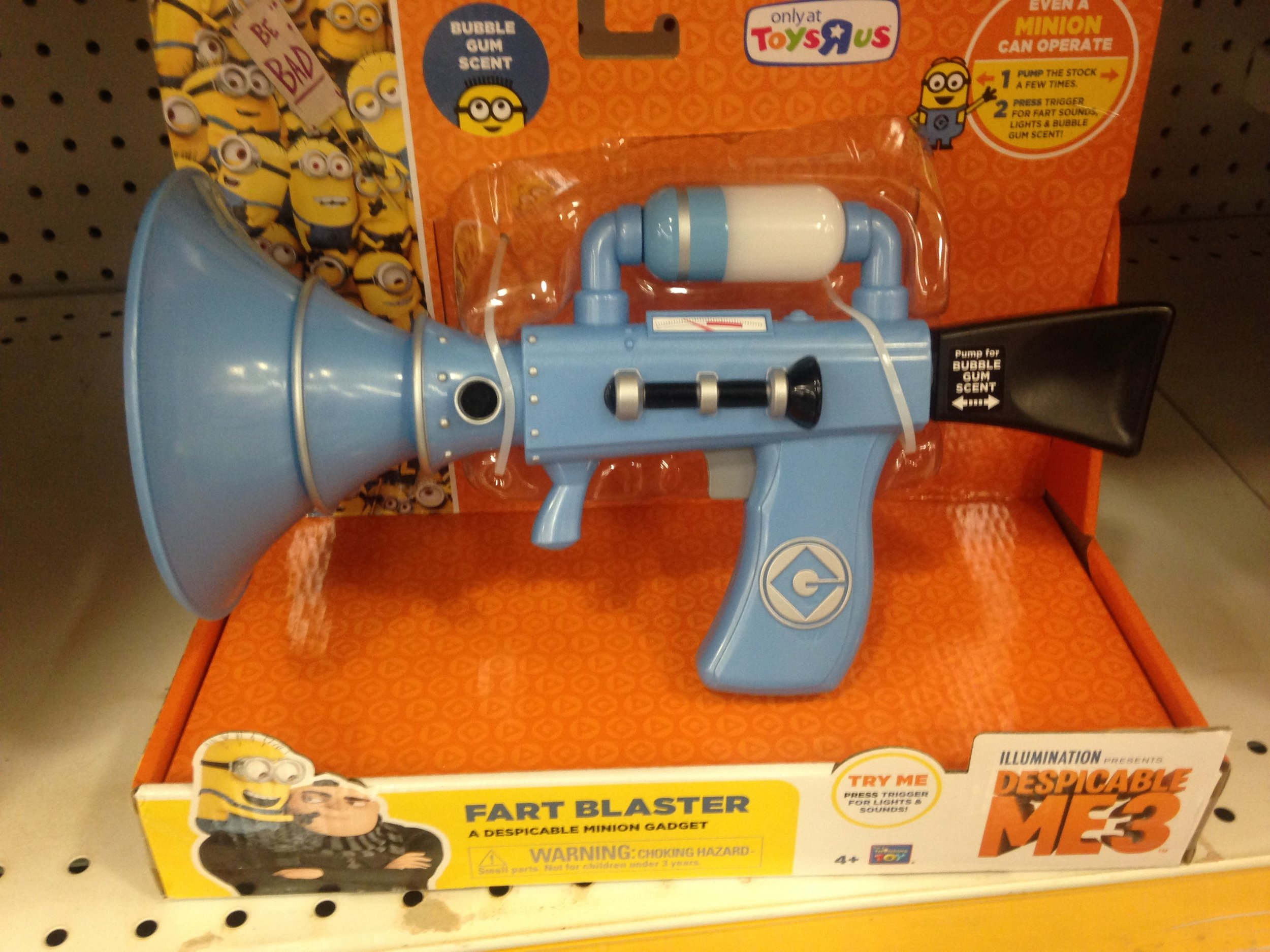 Want your friends with kids to hate you? Get them a fart blaster!