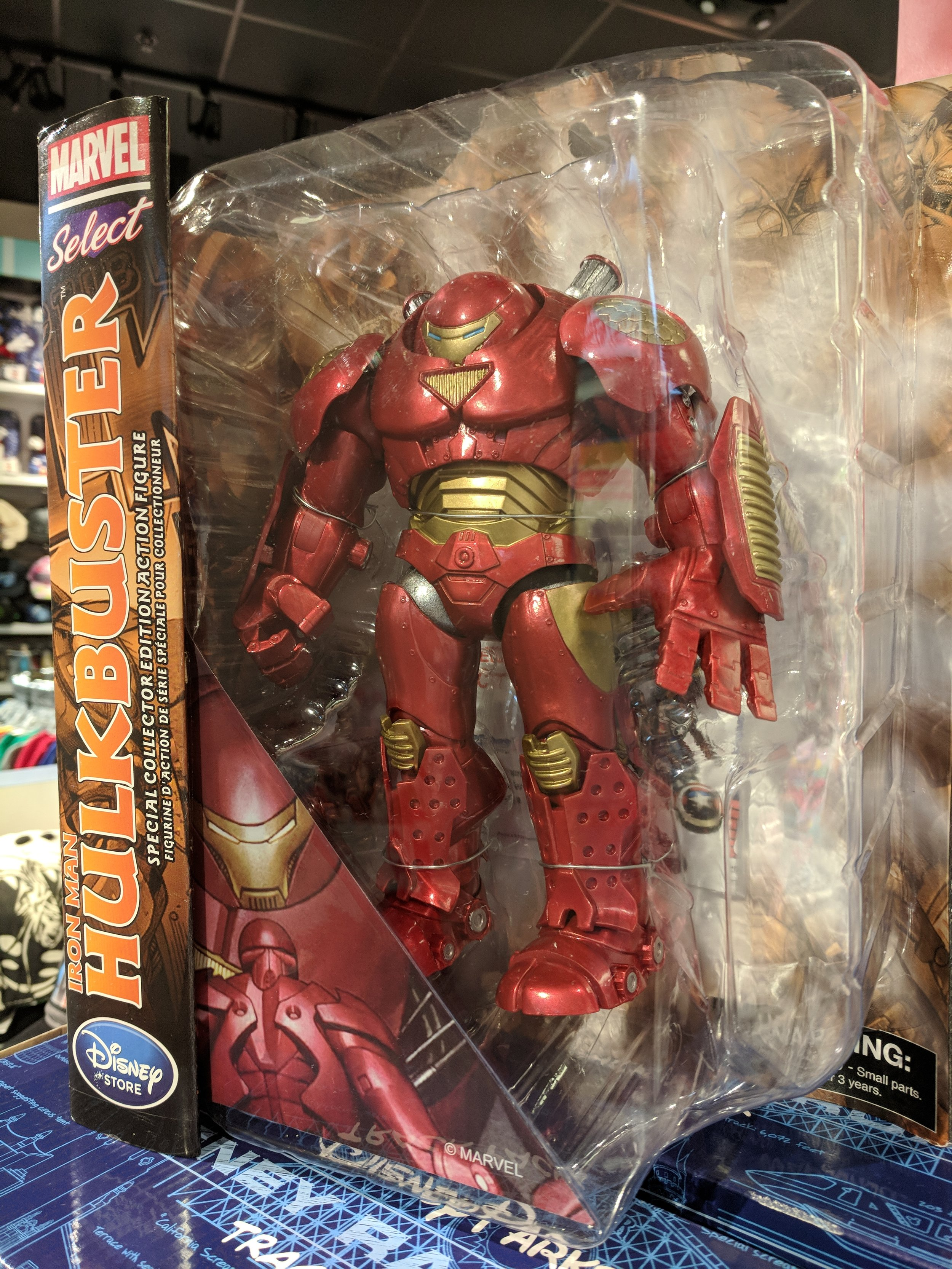 I wanted to be mad but damn that's a sweet Hulkbuster