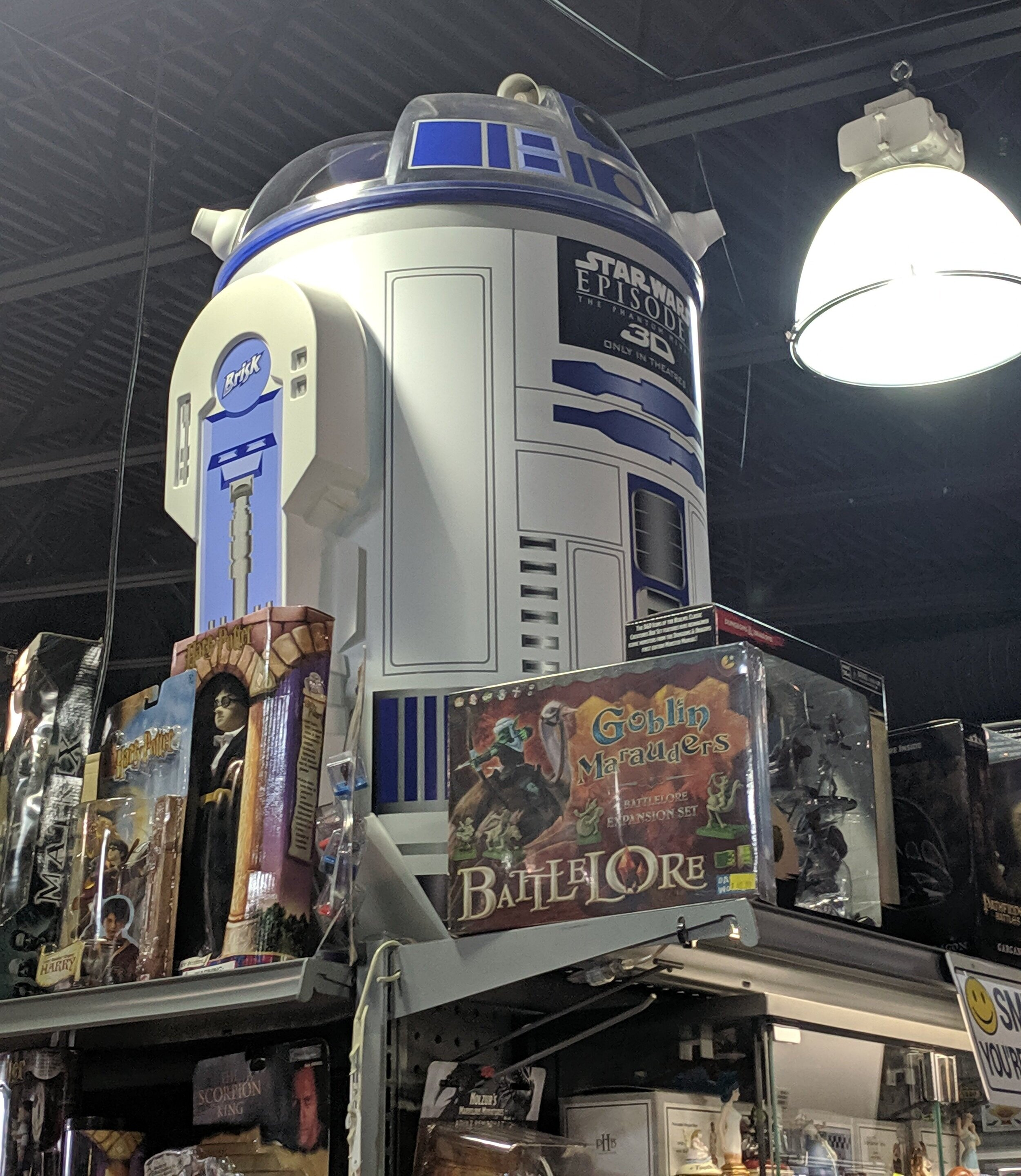 Watch your back though, R2 seems like the kind of droid that would drink all your craft beer while you're not looking
