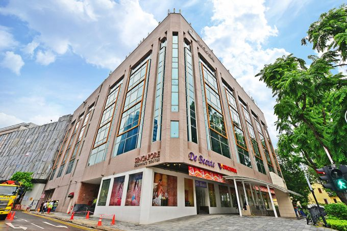 "The Singapore Shopping Centre is located opposite Dhoby Ghaut MRT, and the area is ""poised for a major rejuvenation with the redevelopment of Park Mall just across the street"", said marketing agent SRI."