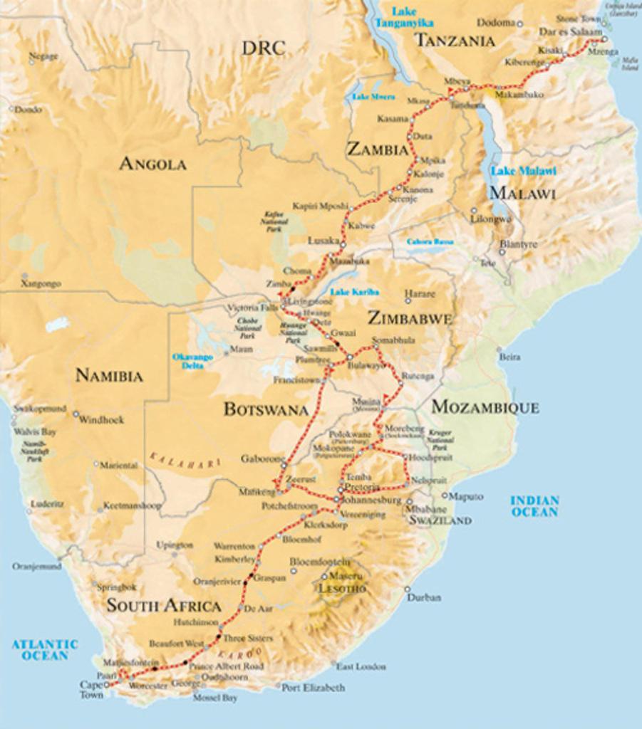 Rovos Rail Afrique circuit