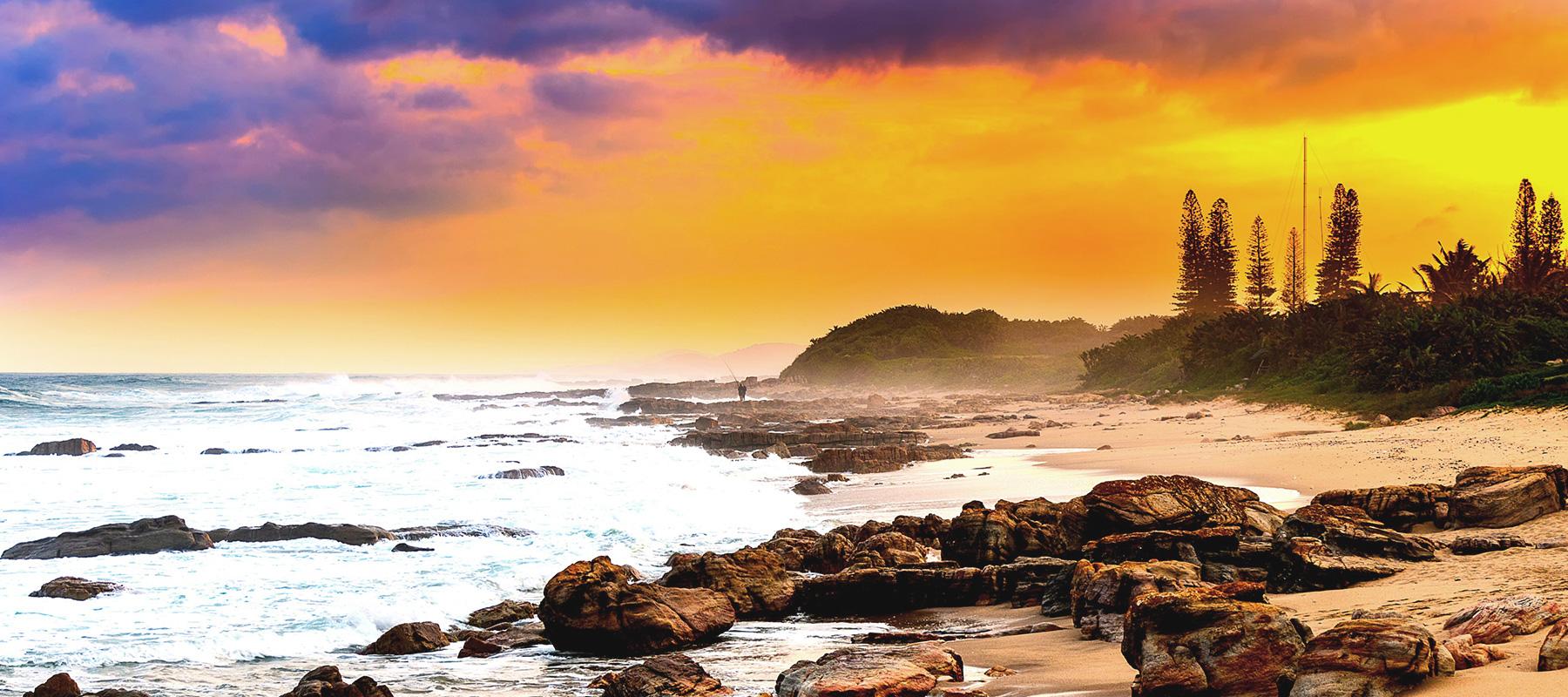 Hébergement sur le littoral de KwaZulu-Natal -
