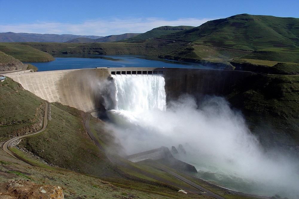 Katse Dam(Maseru) -