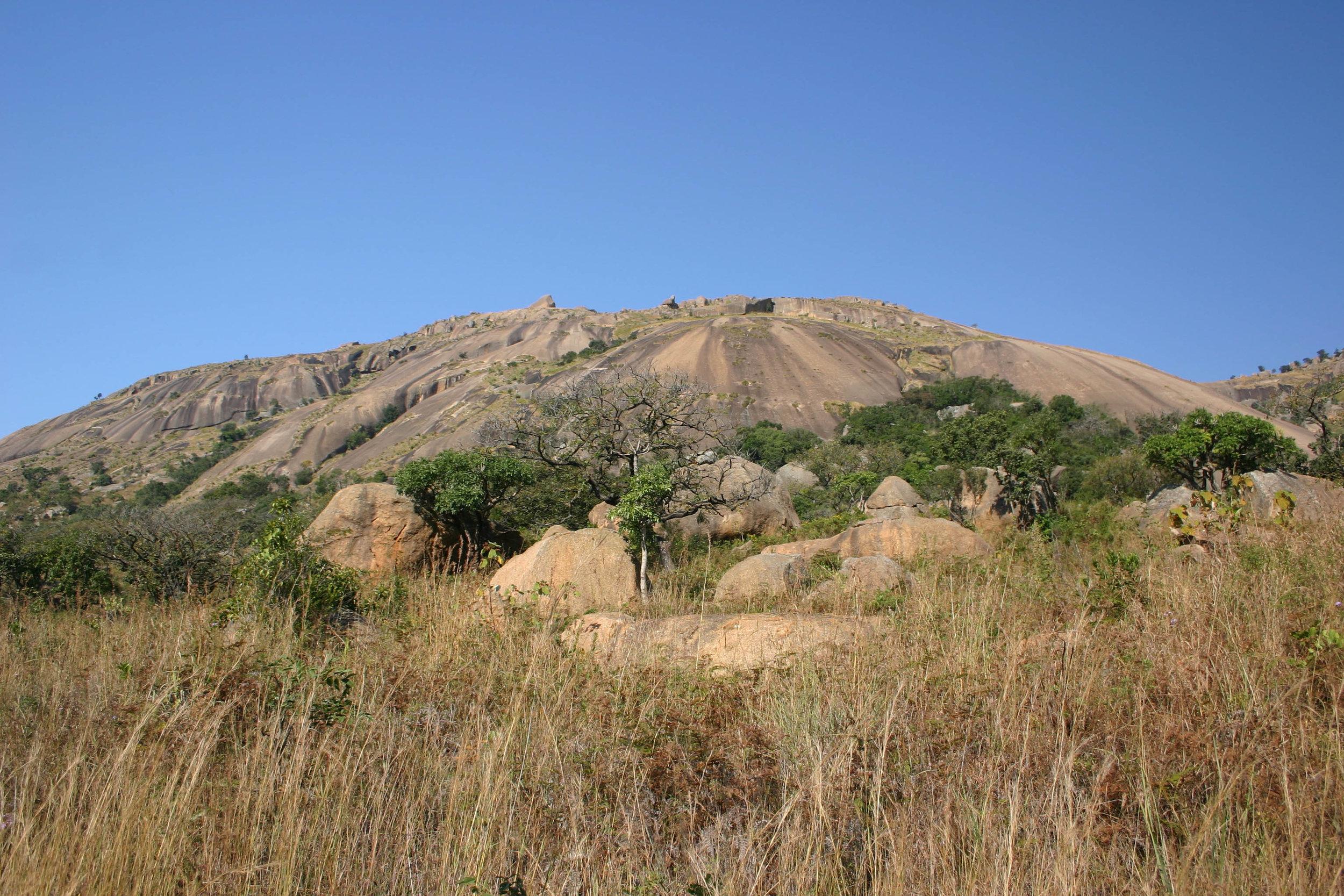 Mbabane et Sibebe Rock -