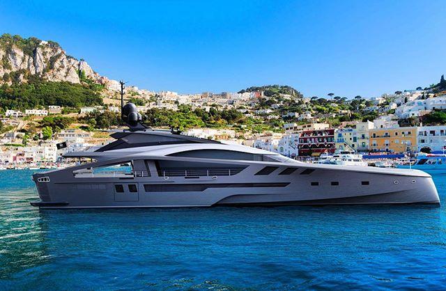 The all new PJ42 Supersport, in all aluminium  #superyacht #sportyacht #yacht #luxury #luxurylifestyle