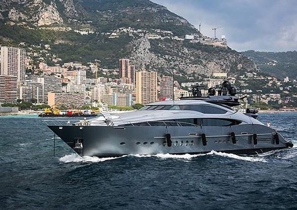 Stealthily making her way through Monaco @raphael_belly_photography  #silverwave #palmerjohnson #superyacht #yacht #luxury #luxurylifestyle