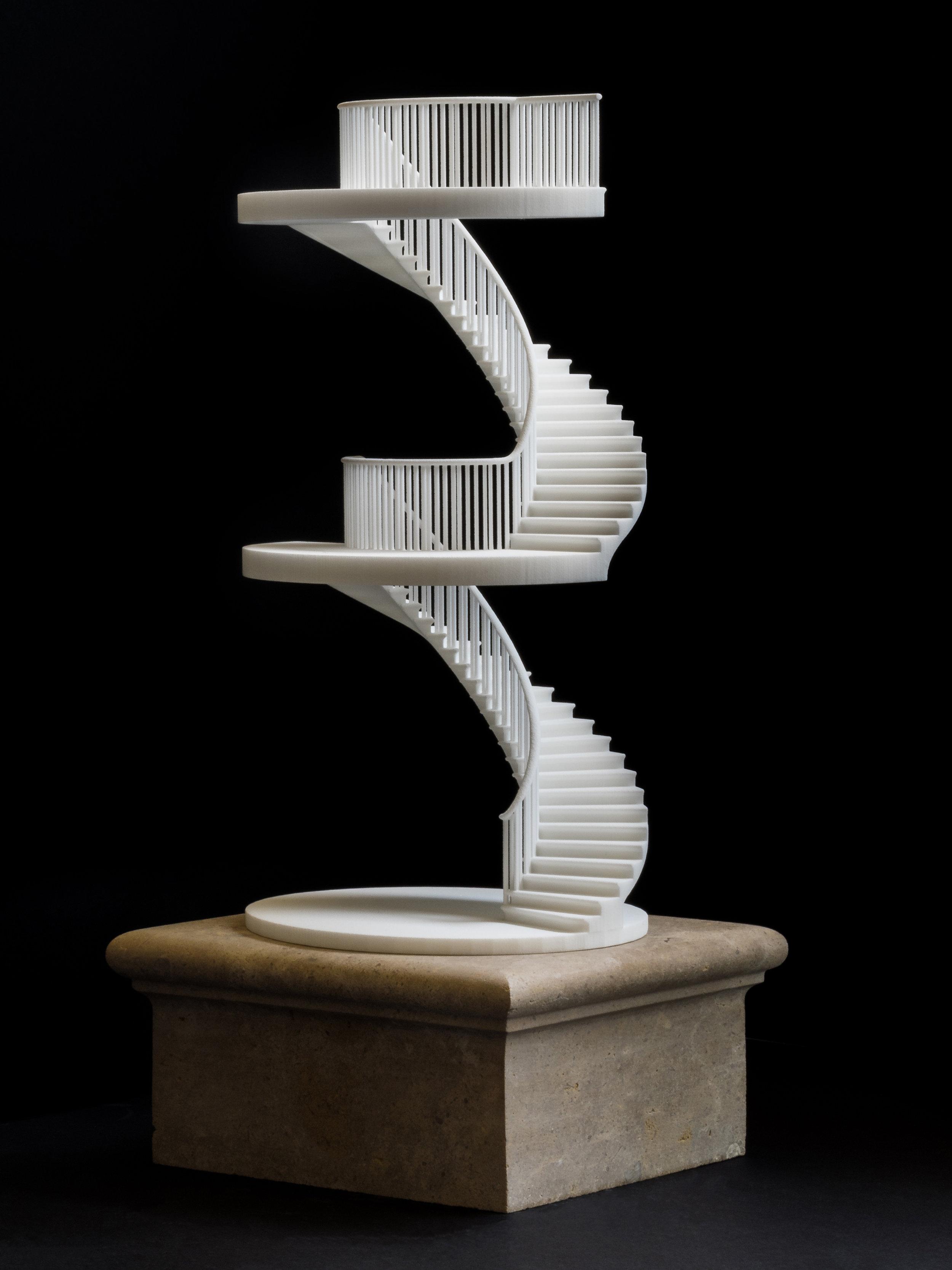 Charlton Brown Architects - Stair Model - 385 x 190 x 165mm.jpg