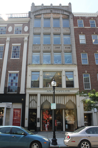 18 Newbury Street   Five unit retail / office space located on the prime retail corridor in Boston's Back Bay.