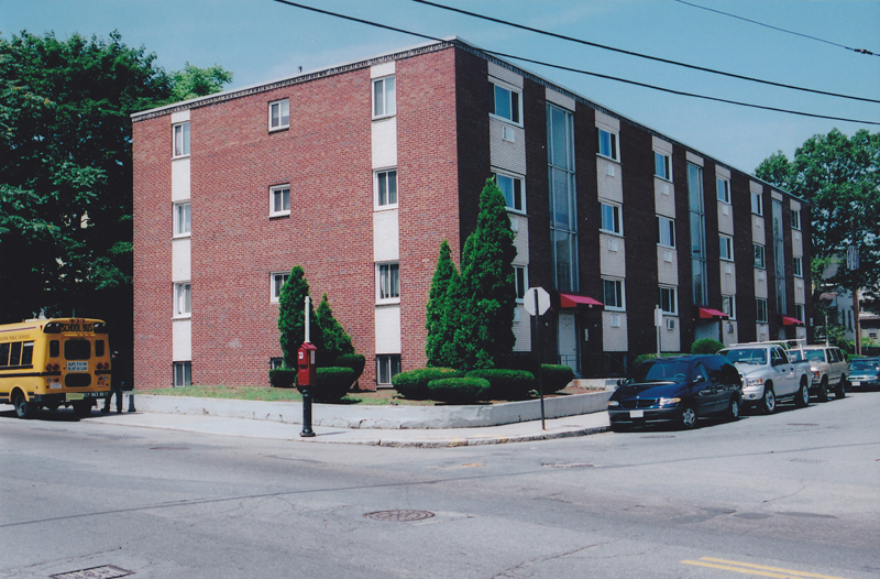 491-495 Huntington Avenue   24 unit residential apartment building in Hyde Park, MA