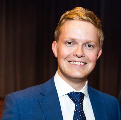 Shane Montgomery (2016) SecretaryVice-President [Communications] -