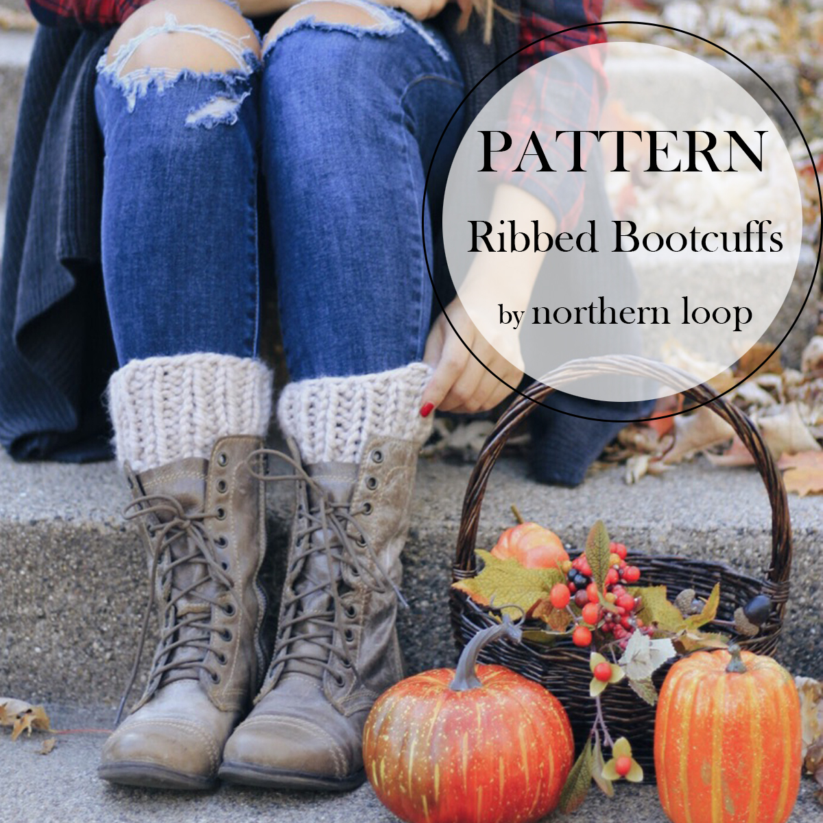 Ribbed Bootcuffs by Northern Loop Knitwear